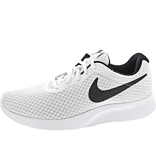 Nike Tanjun, Zapatillas de Running para Hombre, Blanco (White/Black 101), 45 EU