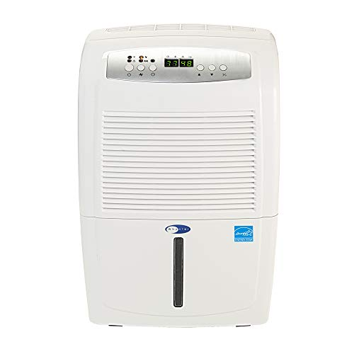 Whynter RPD-551EWP Energy Star 50 Pint High Capacity Portable Dehumidifier with Pump up to 4000 sq ft, White