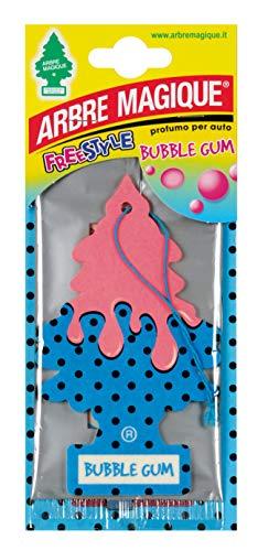 Rosa//Wei/ß Bubble Gum Duft Gomma 3er Set Arbre Magique PER90526 Auto-Lufterfrischer Set of 3