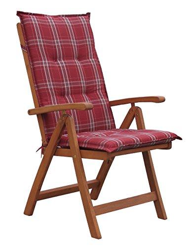 GRASEKAMP Qualität seit 1972 - Auflagen, Kissen & Polster in Rot, Größe 120x52x7cm