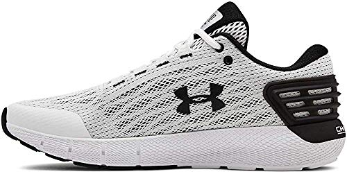 Under Armour Men's Charged Rogue Running Shoe, White (104)/White, 7.5