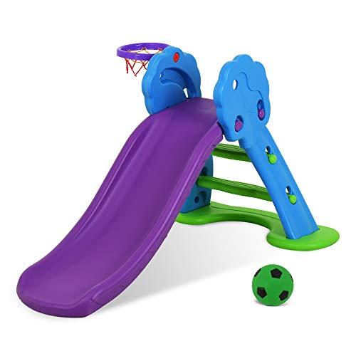 Product Image of the Uenjoy Toddler Slide - Kids Freestanding Slide Playset Indoor and Outdoor Baby...