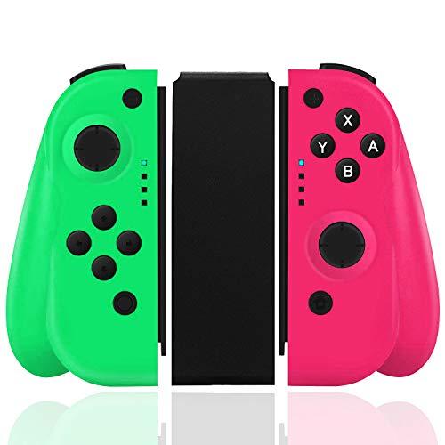 Elyco Mando Para Nintendo Switch, Bluetooth Wireless Controller Gamepad Joystick Joycon Controlador Compatible Con Nintendo Switch Inalámbrico Controller