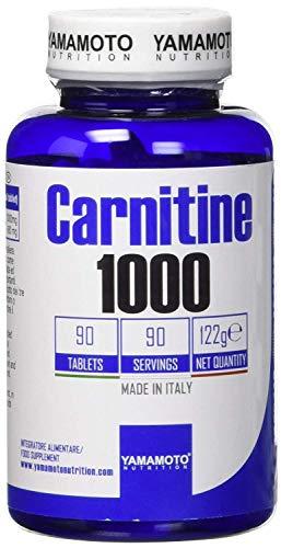 Yamamoto Nutrition Carnitine 1000 Suplemento Dietético - 90 Tabletas