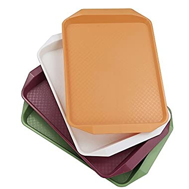 Idomy Fast food Serving Trays, Set of 4