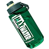 WODINYM Large Water Bottle, 71 Oz Wide Mouth Leak Proof Outdoor Water Jug with Tea Filter & Capacity Scale for Sport Gym Yoga Fitness Camping