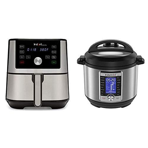 Instant Vortex Plus Air Fryer 6 in 1 & Ultra 10-in-1 Electric Pressure Cooker