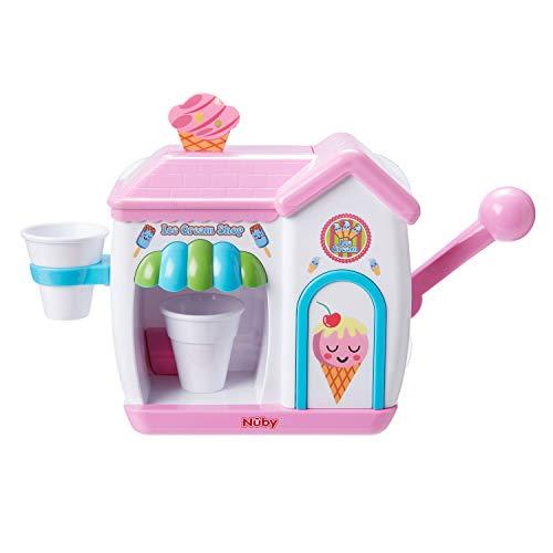 Nuby Badespielzeug für Kleinkinder, Schaumstoff, Rosa
