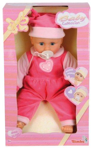 Simba NB-446601-0995 Smoby Hat Batterie Weinend Baby und Ausrüstung Bedient, 40 cm