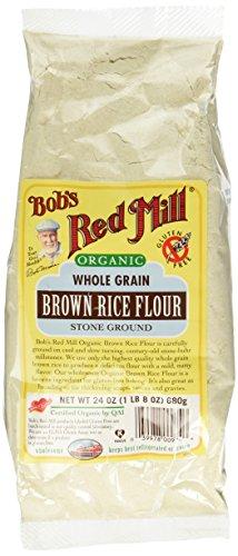 Bob's Red Mill Organic Whole Grain Brown Rice Flour 24 Ounce
