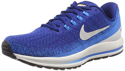 Nike Mens Zoom Vomero 13 Running Shoes (13 D US, Gym Blue/Light Bone/Blue Hero/Sail)