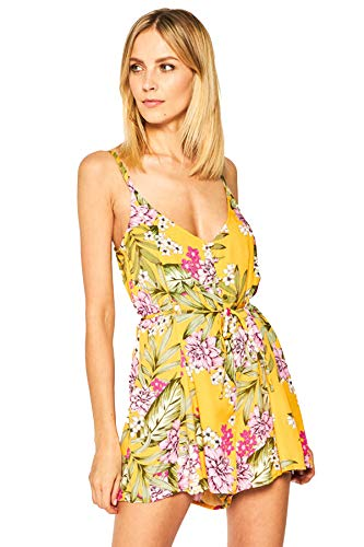 Guess E02H02WO055 - Chándal para mujer, color fotográfico, tamaño a elegir amarillo L