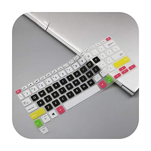 Candyblack - Funda protectora para teclado de ordenador portátil Asus Vivobook S14 14 14 pulgadas S430 S430U S430UF S430Ua S430Fn S430Fa S4300F