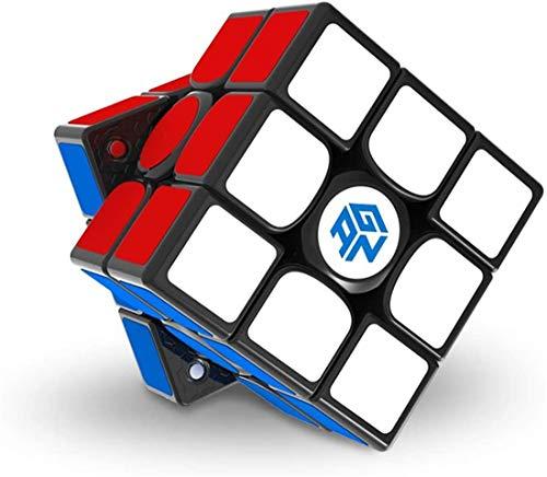 YINGS GAN 356 XS Nuevo GAN 356 XS de Tercer Orden Speed Cube 3x3x3 Juego Profesional Puzzle Cube (versión Final) Puzzle Cube, recientemente lanzado en 2021,Negro