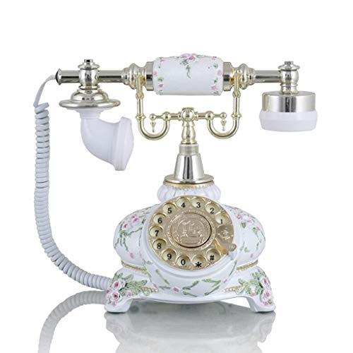 Unbekannt Festnetz Telefon Metall-Wählscheibe im europäischen Stil Festnetztelefon Retro-Telefon Festnetz