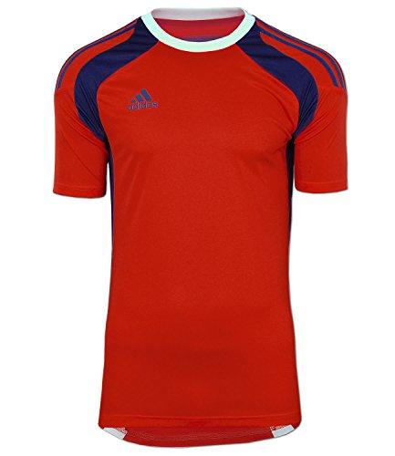adidas Fußball Trikot Torwarttrikot Goalkeeper Jersey Adizero (rot-blau, D8 (54) L)