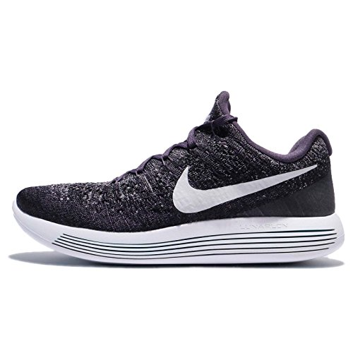 Nike Lunarepic Low Flyknit 2, Dark Rasin/Pure Platinum, 14 D(M) US