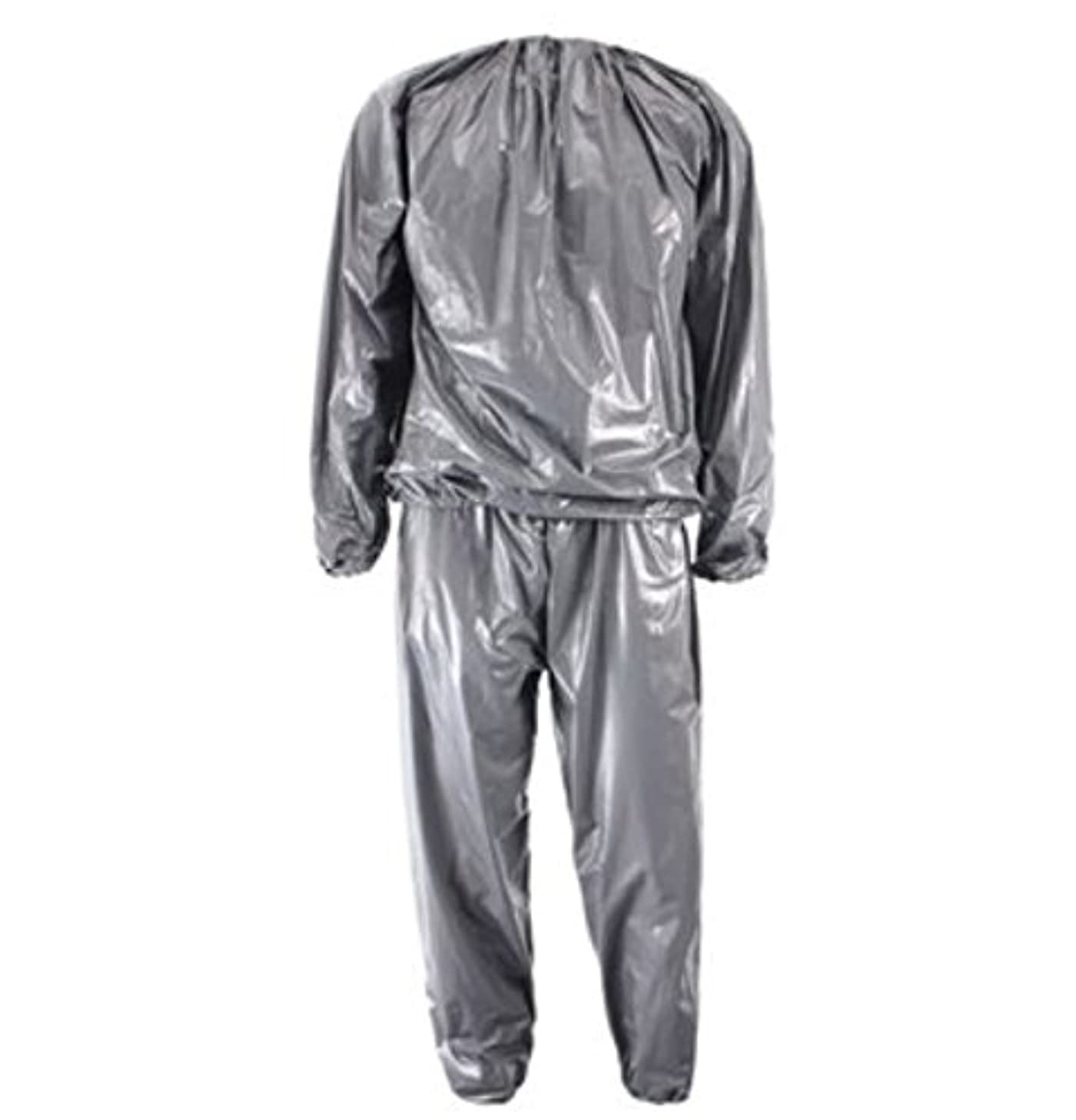 Unisex PVC Sweat Sauna Suit Cloth Lose Weight Slimming Fitness by AdvancedShop
