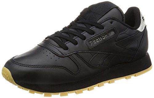 Reebok Dames Klassiek Leer Met Diamant Lage Top Sneakers