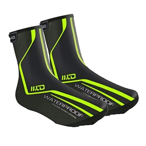 Lixada Überschuhe Fahrrad Regenüberschuhe Schuhüberzug Schuhschutz Wasserdicht Leichter Winterwärmer zum Radfahren Rennrad MTB Fahrrad