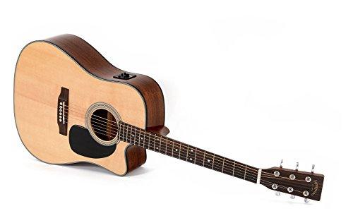 Western-Gitarre Sigma DMC-1STE mit Fishman Isys Tonabnehmer und integriertem Stimmgerät