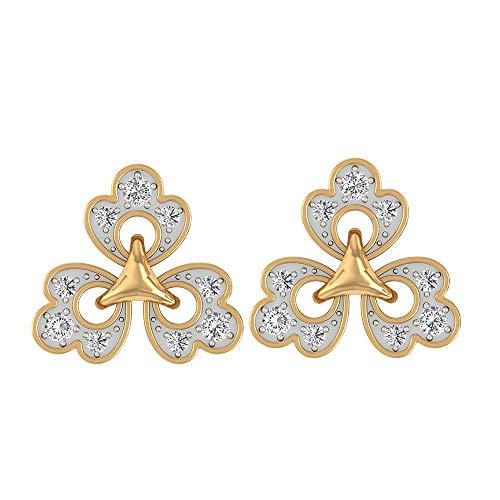 Rosec Jewels 10k Yellow-oro. Runde Diamond