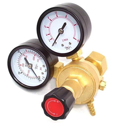 Druckminderer Argon CO2 MIG MAG WIG Schutzgas Schweißgerät Gas Druckregler Gasschlauch Gasflaschendruckminderer AWZ Gasflasche