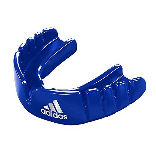 adidas Unisex Jugend OPRO Gen4 Snap-Fit Mundschutz, Blau, Junior