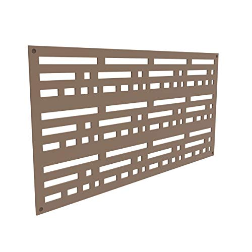 YardSmart 73004798 Decorative Screen Panel 2X4-Morse, Saddle