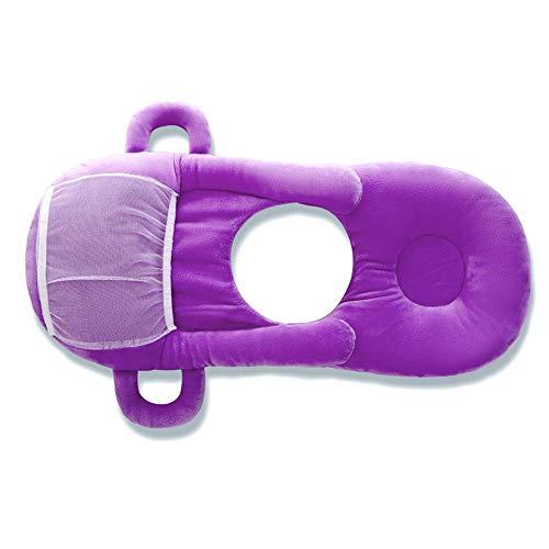Almohada de Punto de algodón Almohada Almohada Almohada de Lactancia Soporte de Maternidad Embarazo Cojín multifunción para bebés 42x30 cm (Color : B)