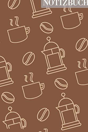 Notizbuch: Kaffe Automat Becher Tasse...