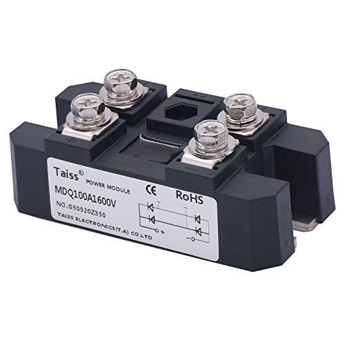 Taiss / 100A 1600V Full Wave Diode Module One Phase Bridge Rectifier MDQ-100A
