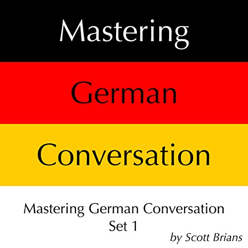 Mastering German Conversation Set 1 audiobook cover art