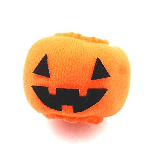 シュシュ ヘアポニー ハロウィン 飾り ハロウィン 装飾 ジャック かぼちゃ ふわもこ【E20-】ハロウィンデコレーション オレンジ ブラック カボチャ