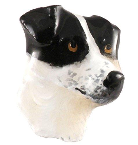 Dipinto, Jack Russel Terrier Marrone e Bianco ~ frigorifero magnete ~ dp106am