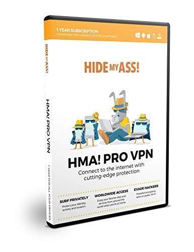 HMA! Pro VPN | Multidispositivos | 2 conexiones activas | 12 meses suscripción