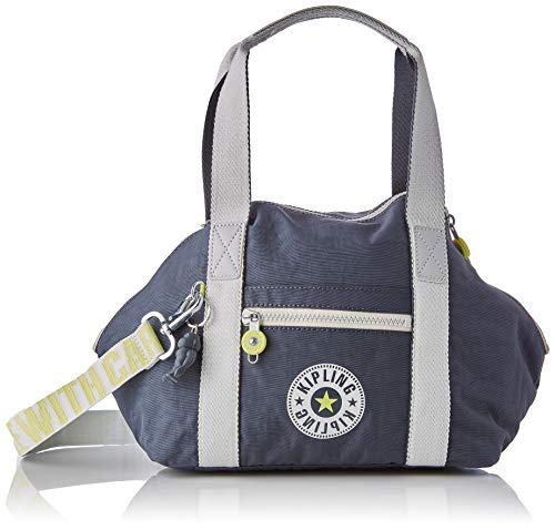 Kipling Damen ART MINI Taschen mit Tragegriff, Grau Schiefer Bl, One Size