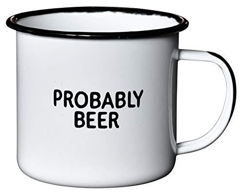 Probably Beer Campfire-style Enamel Mug