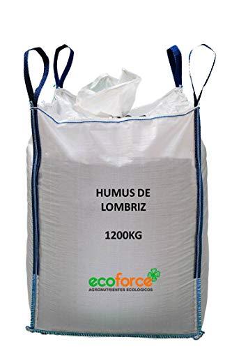 CULTIVERS Humus de Lombriz ecológico. Abono para Plantas Apto para Todo Tipo...