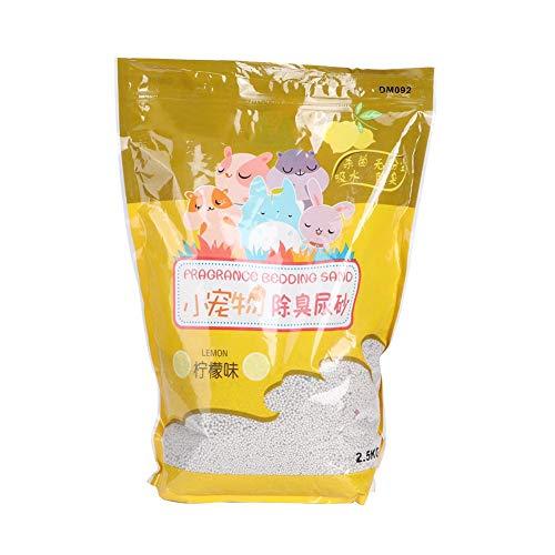 Desodorante Hamster Sand, Bentonita Hamster Desodorante, Summer Pad Hamster Cojín para Cojín Hamster(Lemon)