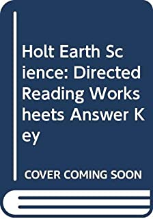 holt earth science worksheets answers