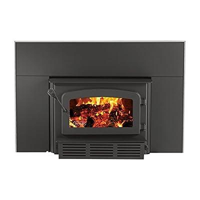 Drolet Escape 1800i Fireplace Wood Insert - 75,000 BTU, EPA-Certified, Model# DB03125 from Stove Builder International Inc