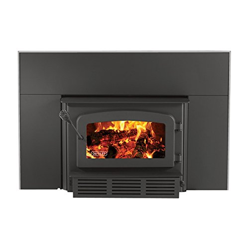 Drolet Escape 1800i Fireplace Wood Insert - 75,000 BTU, EPA-Certified, Model# DB03125