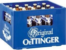 20 Flaschen Oettinger Pils a 500ml Orginal 4,7% vol. inc. 1.60€ MEHRWEG Pfand