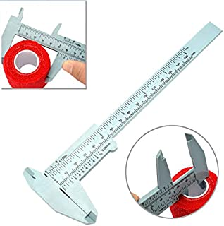 nogal wenwan para una f/ácil medici/ón de los calibradores a vernier Herramienta de alta calidad de 8 cm de pl/ástico nogal mini wenwan port/átil