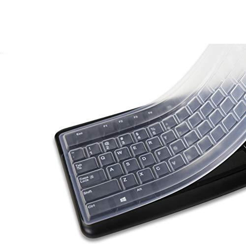 Alivier 1 stück Silikon Desktop Computer Tastatur Abdeckung Hautschutzfolie