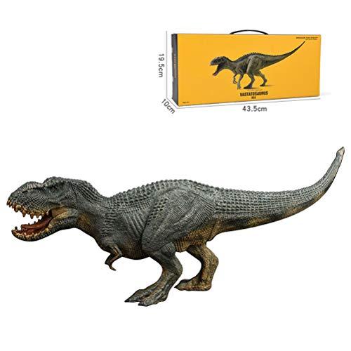 Oyria Juguetes de dinosaurio, Figuras de animales de juguete modelo de animal de plástico jurásico Indominus Rex figuras de acción de boca abierta dinosaurio mundo de animales modelo de niño juguete