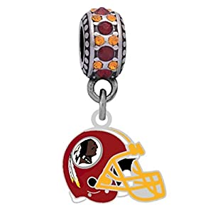 Final Touch Gifts Washington Redskins Helmet Charm