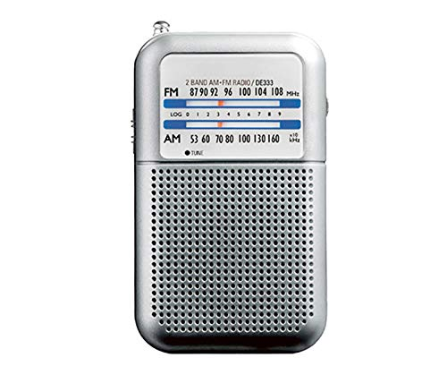 Lsmaa Am/Fm radio portátil, mini transistor de bolsillo antena telescópica de dos bandas que recibe alta sensibilidad y sonido súper fuerte, adecuado para escuchar música