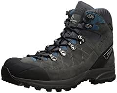 Suede leather upper with Gore-Tex to keep out the elements TPU toe cap for added protection Lightweight PU midsole offers durable impact protection Bi-component hardware for ease of lacing
